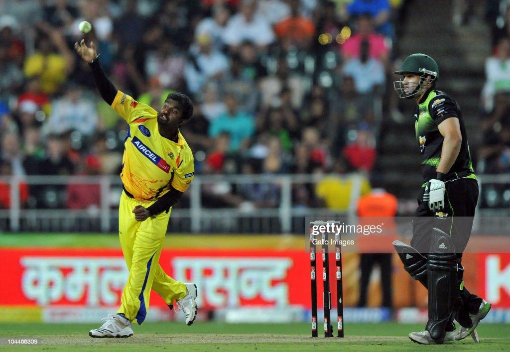 ACL Twenty20 Final: Chennai Super Kings v Warriors : News Photo