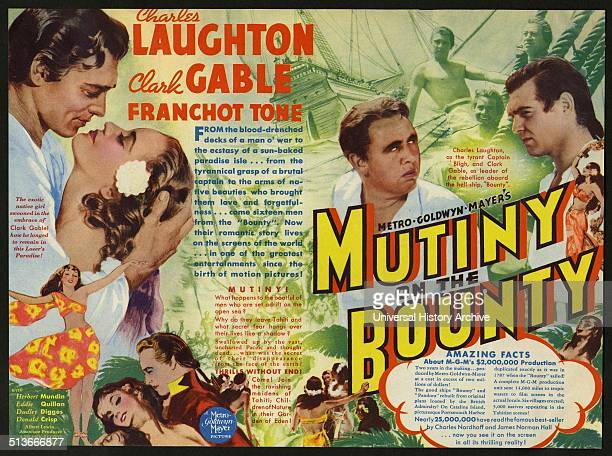 Mutiny on the Bounty is a 1935 film starring Charles Laughton and Clark Gable and directed by Frank Lloyd based on the Charles Nordhoff and James...