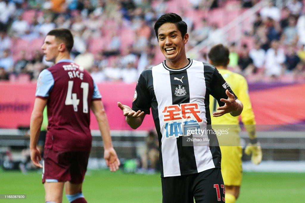 Newcastle United v West Ham United - Premier League Asia Trophy: 3rd/4th Playoff : ニュース写真