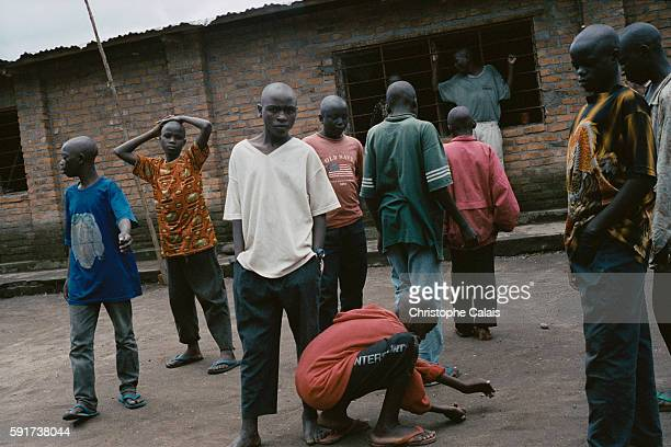 Mutobo demobilisation camp for child soldiers who fought for the various militia groups participating in the internal conflicts in the Democratic...