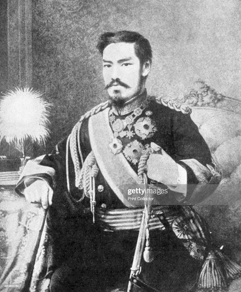 Emperor Mutsuhito, Japanese, c1867. : News Photo