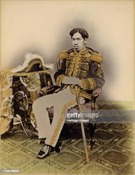 Mutsuhito, The Meiji Emperor, 1873. Artist Uchida Kyuichi.