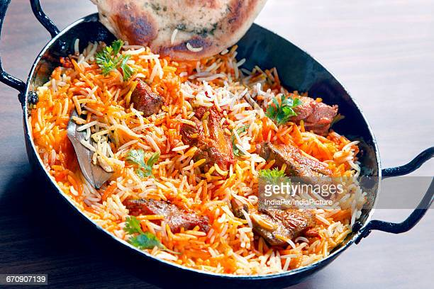 Mutton Biryani , Indian food