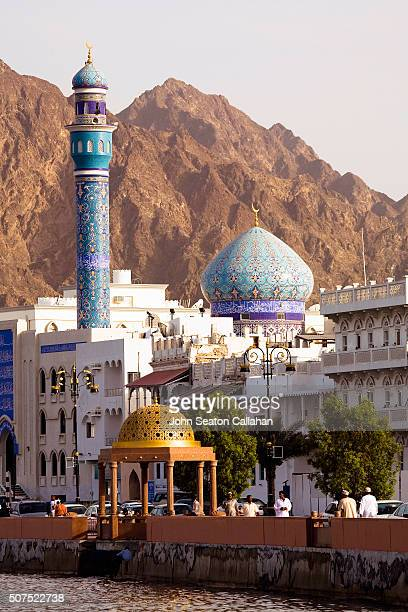 muttrah harbour - arabian peninsula stock pictures, royalty-free photos & images