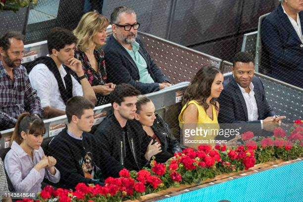 Mutua Madrid Open Aitana Miguel Bernardeau Duato Alvaro Rico Esther Exposito Susana Griso Silvia Nistal Calvo Julio Baptista during the match between...