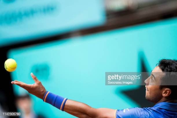 Mutua Madrid Open Hugo Dellien during the match between Mutua Madrid Open Masters v day 5 on May 8, 2019 in Madrid Spain
