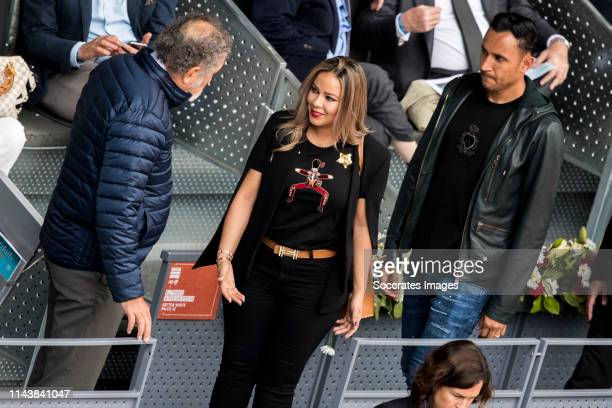 Mutua Madrid Open Ion Tiriac Andrea Salas Keylor Navas during the match between Mutua Madrid Open Masters v day 5 on May 8 2019 in Madrid Spain