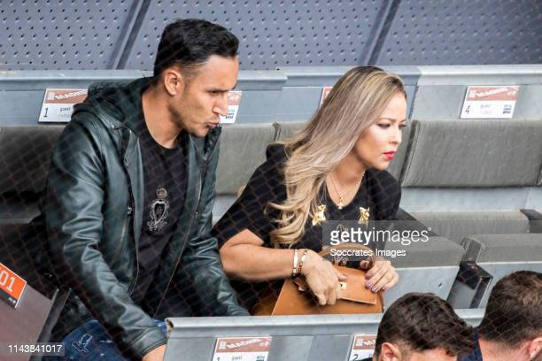Mutua Madrid Open Keylor Navas Andrea Salas during the match between Mutua Madrid Open Masters v day 5 on May 8 2019 in Madrid Spain