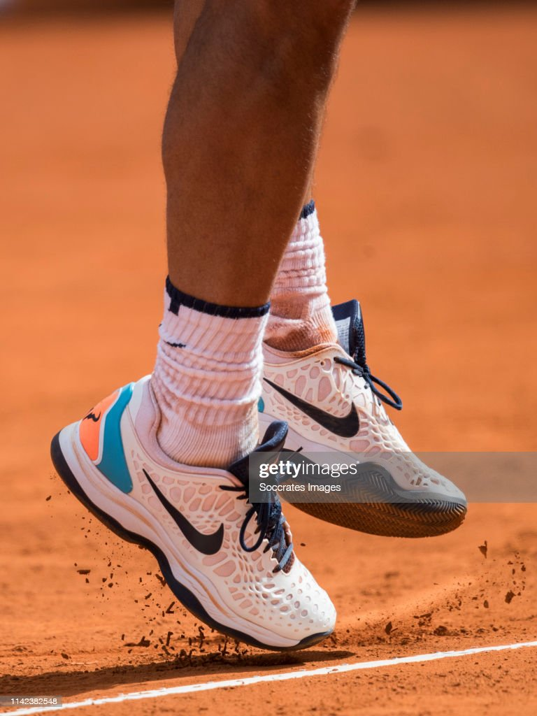 Mutua Madrid Open Nike Shoes Of Rafael Nadal During The Match Between News Photo Getty Images