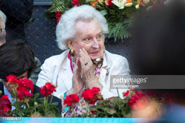 Mutua Madrid Open Pilar de Borbon during the match between Mutua Madrid Open Masters v day 9 on May 12 2019 in Madrid Spain