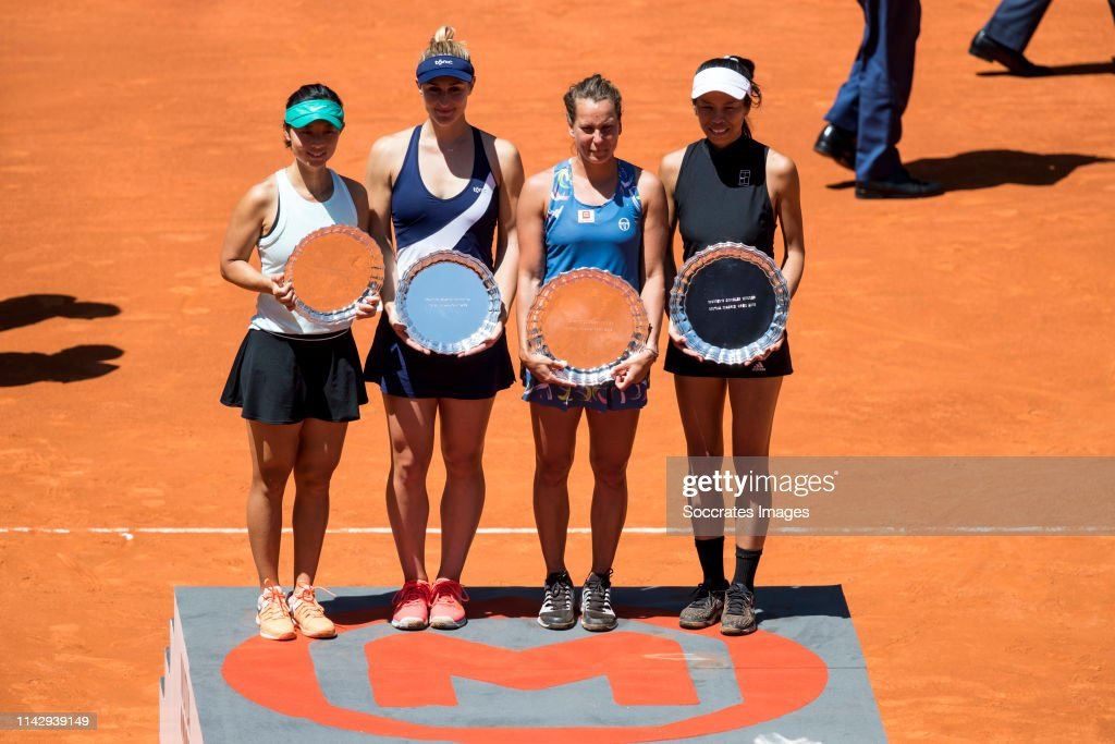 Mutua Madrid Open Masters v day 8 : News Photo