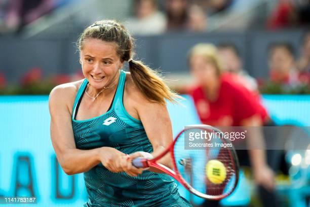 Mutua Madrid Open Viktoria Kuzmova during the match between Mutua Madrid Open Masters v day 1 on May 6 2019 in Madrid Spain