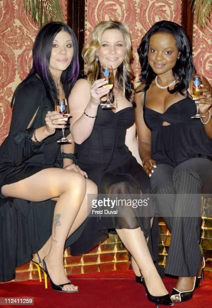 Mutya Buena Heidi Range and Keisha Buchanan of Sugababes