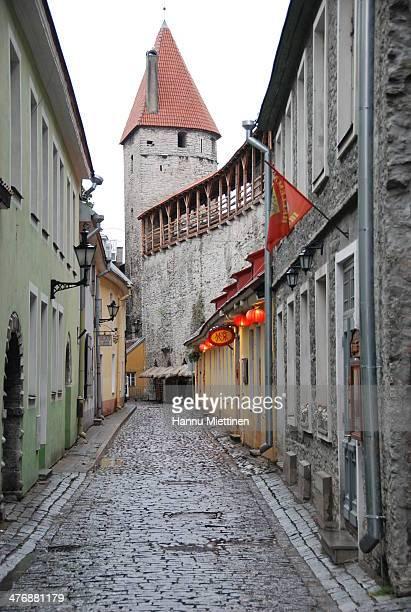 CONTENT] muurivahe st in old town tallinn estonia early sunday morning