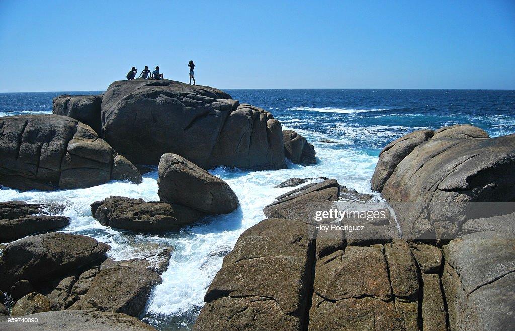 """Muxia, """"Costa da Morte"""" : Stock Photo"""