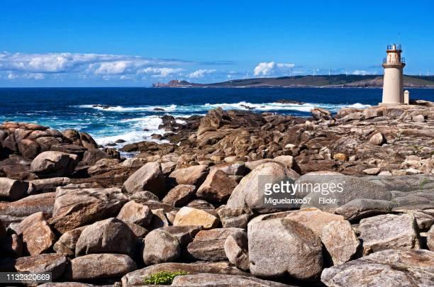 Muxia Lighthouse on the Coast of Death, Galicia (Spain)