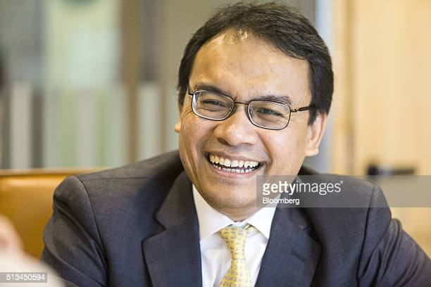 Muzaffar Hisham chief executive officer of Maybank Islamic Bhd speaks during an interview at his office in Kuala Lumpur Malaysia on Wednesday March 2...