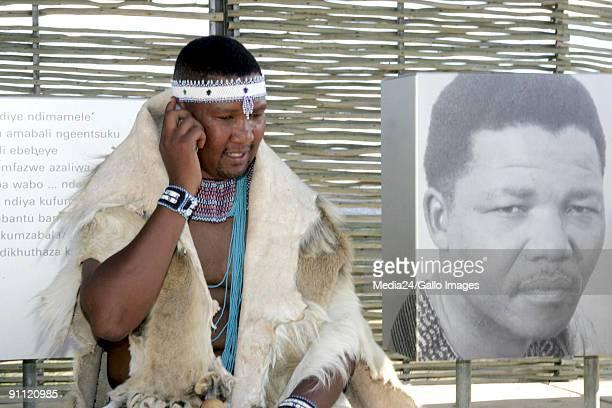 Mveso Eastern Cape Mandla Mandela grandson of Nelson Mandela is innuagurated as Head of the abaThembu tribe