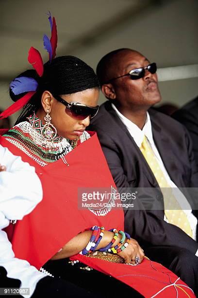 Mveso Eastern Cape Mandla Mandela grandson of Nelson Mandela is innuagurated as Head of the abaThembu tribe Prince Mbonisi Zulu brother of King...