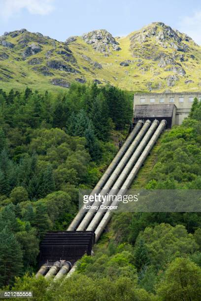 152 Mw the sloy Hydrop power station is the largest hydro power station in the UK, Loch Lomond