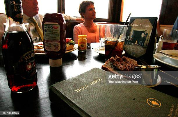 mxbar6 Mark Gail_TWP Susan Lehman's bible sits on the table during the discussion of Matthew 54348 and Luke 636 at the Bethesda Presbyterian Church's...