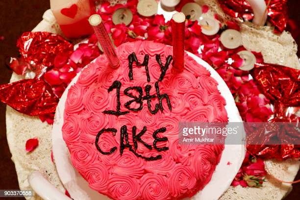 My 18th Cake