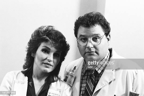 """My Aim is True"""" Episode 6 -- Pictured: Sagan Lewis as Doctor Jacqueline Wade, Stephen Furst as Doctor Elliot Axelrod -- Photo by: Jack Hamilton/NBCU..."""