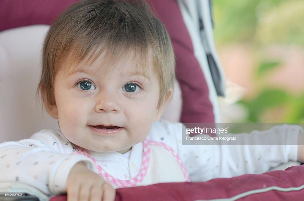 My baby girl : Stock Photo