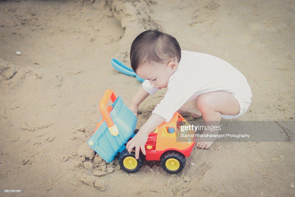 My Beach Time : Stock Photo