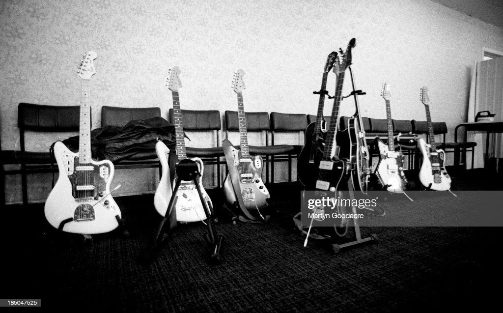 My Bloody Valentineu0027s Guitars Backstage In London United Kingdom 1990