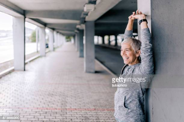 my body is still strong! - one senior woman only stock pictures, royalty-free photos & images