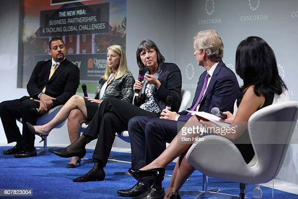CEO My Brother's Keeper Alliance Blair Taylor Save the Children President CEO Carolyn Miles MasterCard CFO Martina HundMejean Dean of University of...