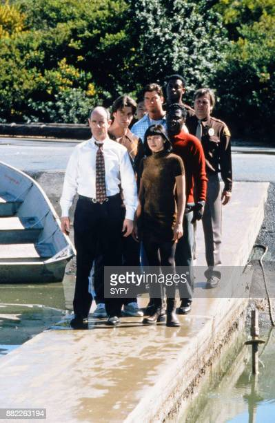 SLIDERS My Brother's Keeper Episode 19 Pictured Charlie O'Connell as Colin Mallory Jerry O'Connell as Quinn Mallory Kari Wuhrer as Capt Maggie...