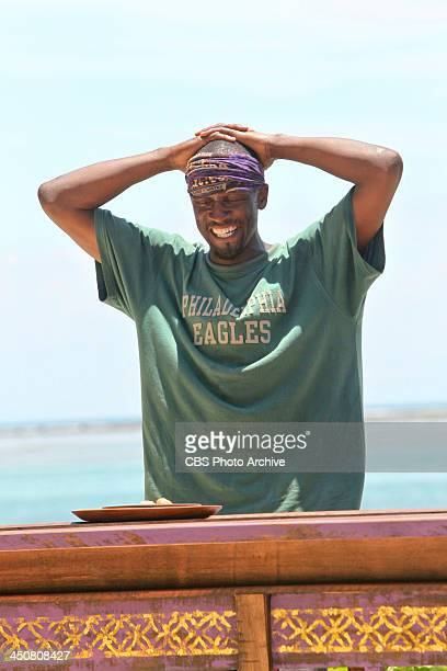 "'My Brother's Keeper' "" Gervase Peterson competes in the Immunity Challenge during the ninth episode of SURVIVOR BLOOD vs WATER Wednesday Nov 13 on..."