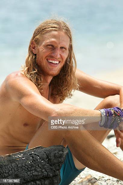 "'My Brother'™s Keeper' "" "" Tyson Apolstol during the ninth episode of SURVIVOR BLOOD vs WATER Wednesday Nov 13 on the CBS Television Network"