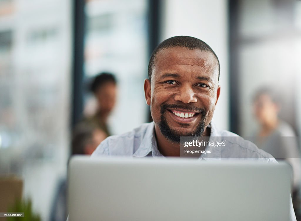 My career has brought me great satisfaction : Stock Photo