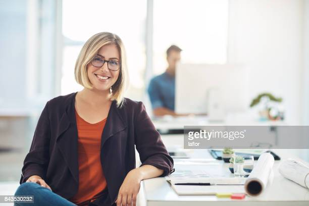 my career keeps me smiling everyday - smiling stock pictures, royalty-free photos & images