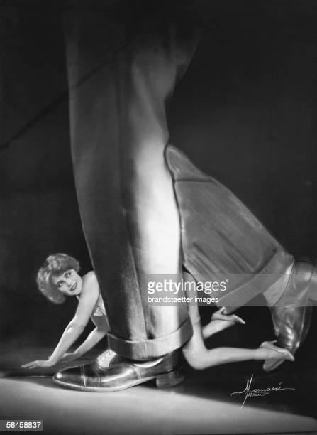 My cat Published under the titel At every turn i make beautiful women cross my way Photography around 1926 [Mein Katzerl Publiziert unter dem Titel...