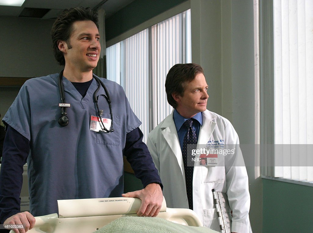 SCRUBS -- 'My Catalyst' Episode 12 -- Pictured: Zach Braff as Dr