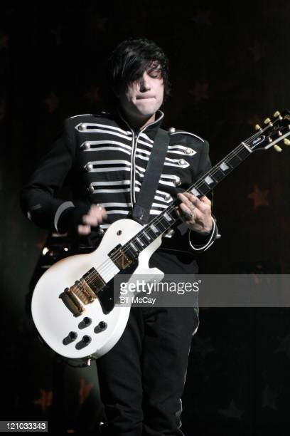 My Chemical Romance during My Chemical Romance in Concert at The Liacouras Center Temple University - February 25, 2007 at The Liacouras Center,...