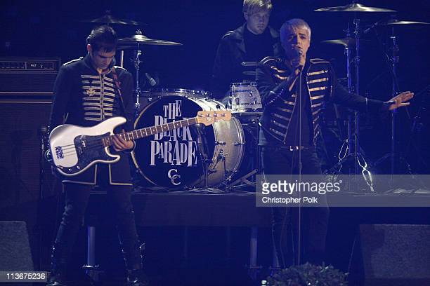 My Chemical Romance during Spike TV's Scream Awards 2006 Show at Pantages Theater in Hollywood California United States