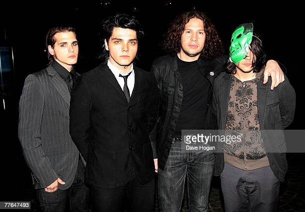 my chemical romance 画像と写真 getty images