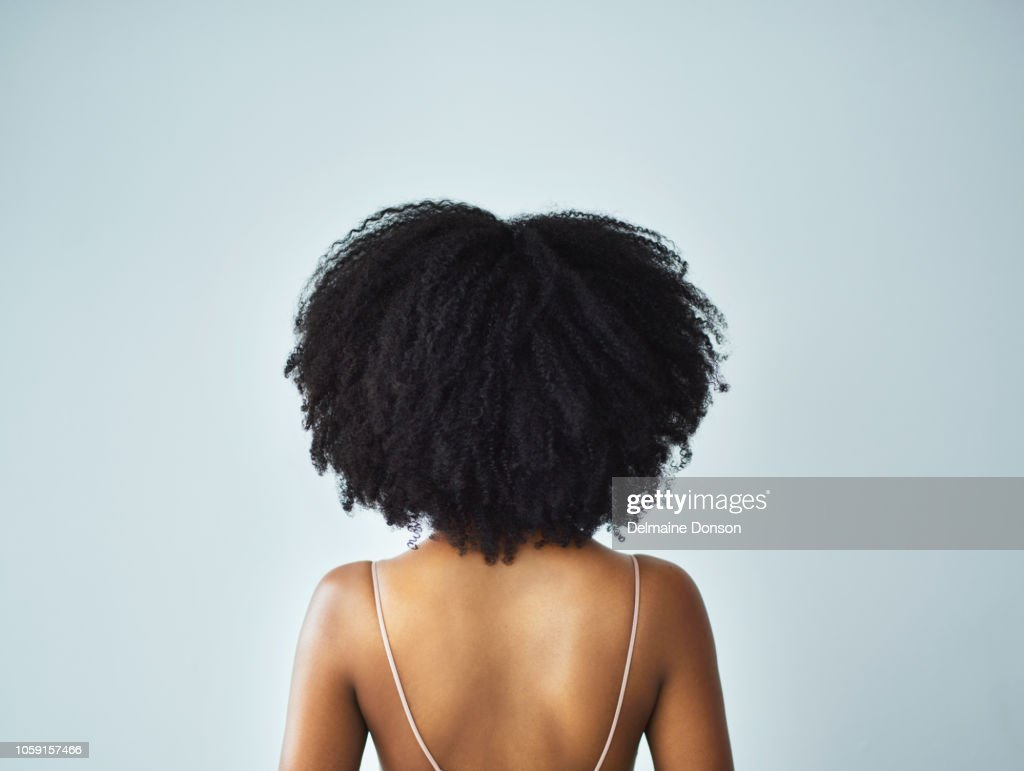My curls, my crown : Stock Photo