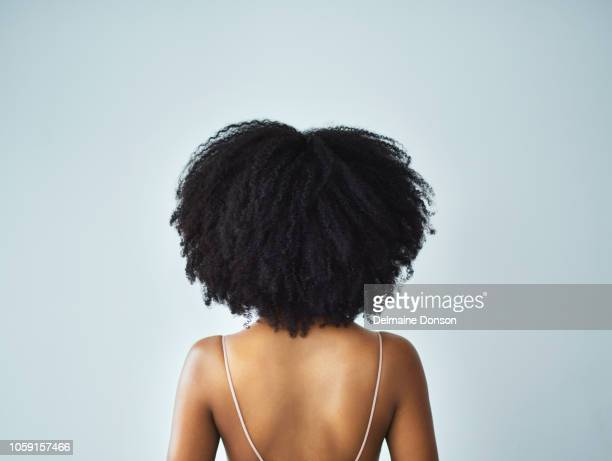 my curls, my crown - black women stock photos and pictures