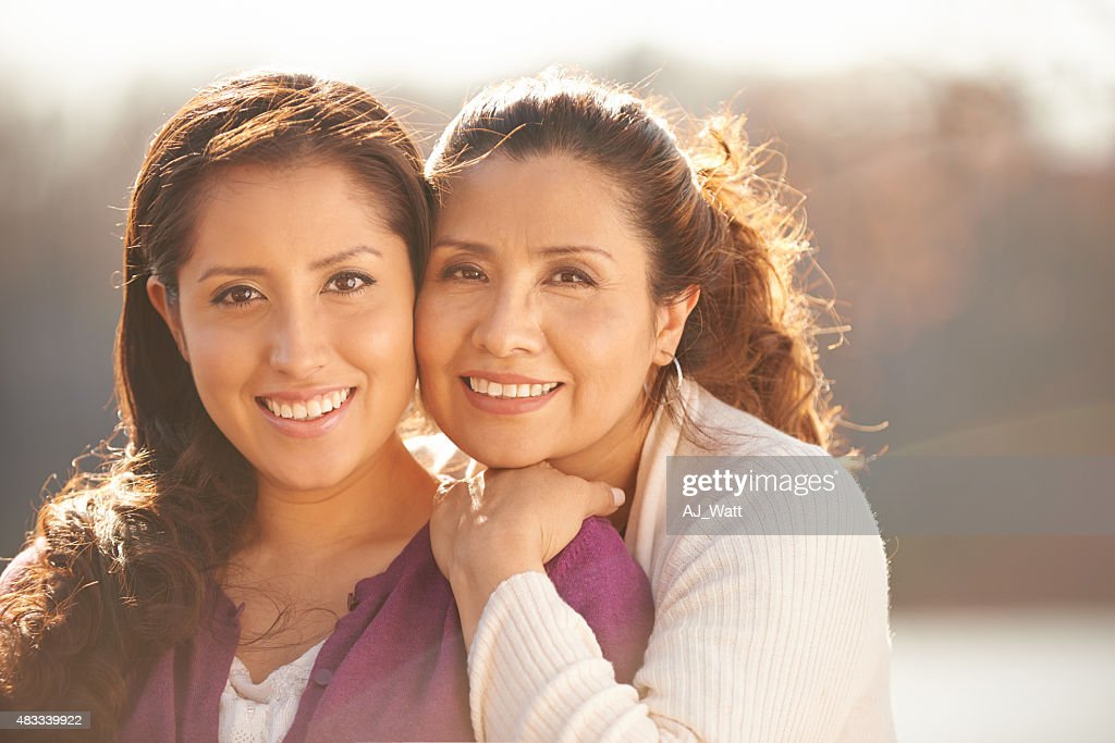 My daughter means the world to me : Stock Photo