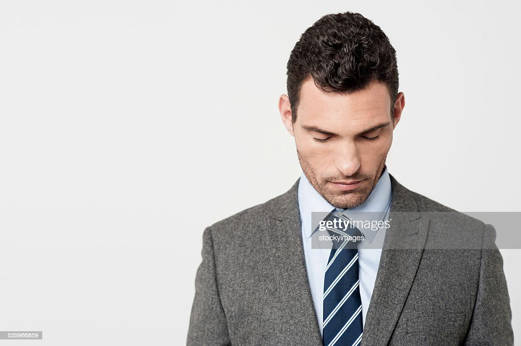My deep condolences ! : Stock Photo