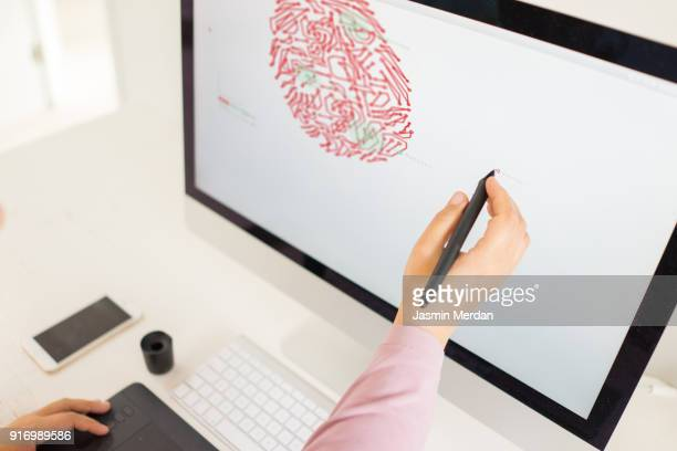 my desk - illustrator stock photos and pictures