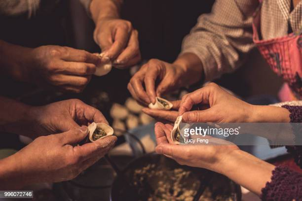 My Family Making Northern Chinese Dumplings