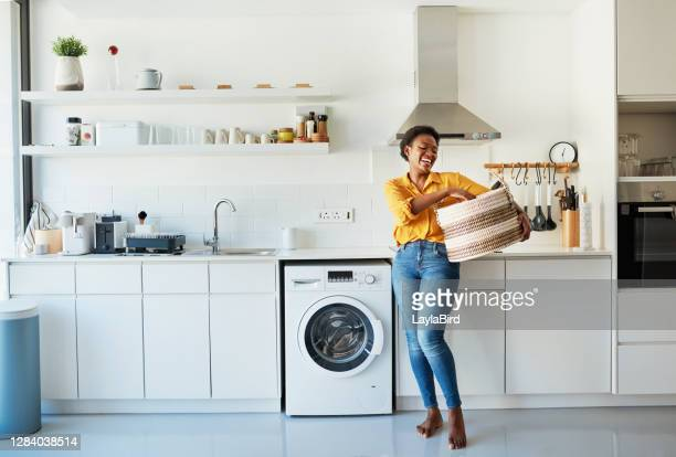 my favourite chore is doing the laundry! - washing machine stock pictures, royalty-free photos & images