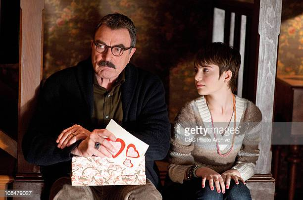 My Funny Valentine Frank Reagan and Nicky ReaganBoyle at home during the family dinner on BLUE BLOODS Wednesday Feb 9 on the CBS Television Network
